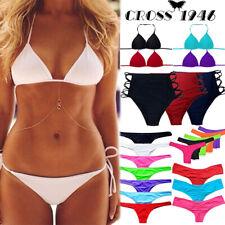 Brazilian Women Bikini Bra Padded Scrunched Bottom Swimwear Swimming Suit Summer