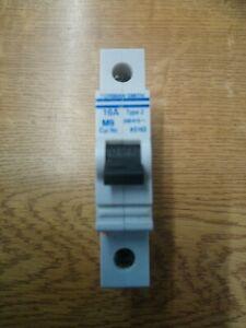 Dorman Smith M9 AS162 MCB  16 Amp Type 2 MCB Circuit Breaker Used