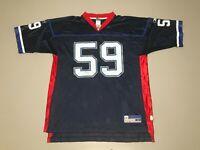 London Fletcher #59 Buffalo Bills NFL Blue Reebok Football Jersey Men's Size L