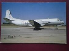 POSTCARD HAWKER SIDDELEY ANDOVER C1 XS637 OF 60 SQUAD AT BRIZE NORTON 1991
