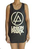 Linkin Park Mens Womens Ladies Vest Tank Top Singlet Dress Sleeveless T-Shirt
