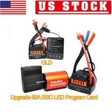 B3650 4300Kv Brushless Motor+60A Esc +Program Card Combo For 1/10 Rc Car 3.175mm