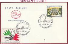 ITALIA FDC CAVALLINO VILLE D'ITALIA VILLA SANTA MARIA PULA CA 1985 TORINO Y899