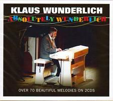 KLAUS WUNDERLICH - ABSOLUTELY WUNDERLICH - OVER 70 BEAUTIFUL MELODIES (NEW 2CD)