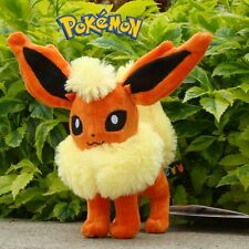 "Flareon 8"" Nintendo Pokemon Plush Toy Collectible Stuffed Animal Doll Rare"