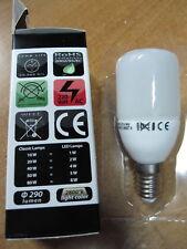 LAMPADA e14 LED 4W = 40W fredda a BASSO CONSUMO RISPARMIO ENERGETICO BULBO VETRO