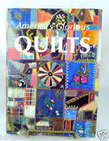 America's Glorious Quilts Art of Quilting  Hardback 1987 LARGE BOOK 320 pgs