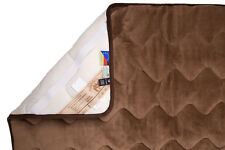 Unterbett Kamelwolle Matratzenauflage Bettauflage Schonbezug 80x200 gesteppt