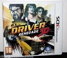 DRIVER RENEGADE 3DS GIOCO USATO OTTIMO STATO 3DS ED. ITALIANA TRIANGOLO BLU FR1