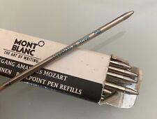 Montblanc caja de 20 cargas de tinta para bolígrafos color azul Ref 16240