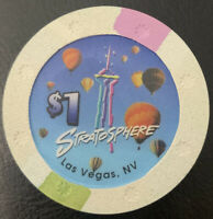 $1 Casino Chip - Stratosphere Las Vegas Las Vegas NV Sun Mold Uncirculated Mint