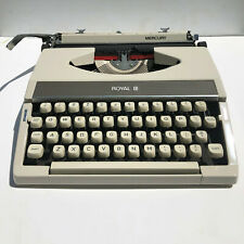 1965 Royal MERCURY Typewriter Museum Quality