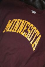 True Vintage Champion Minnesota American College Football Sweatshirt Large NCAA