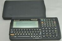 SHARP Pocket computer PC G850 Function Calculator Tested Examined vintage