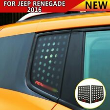 For Jeep Renegade 2016+ Accessories Car Triangular Window Glass Decor Cover Trim
