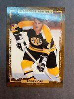 2015-16 Upper Deck Portfolio Legend #187 Bobby Orr Boston Bruins
