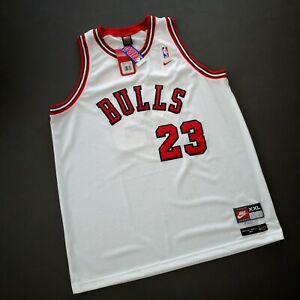 100% Authentic Michael Jordan Nike 84 85 Bulls Swingman Jersey Size 2XL 52 Mens