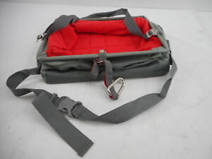 Kurgo Rover Booster Dog Car Seat with Seat Belt Tether, Charcoal/Chili Red