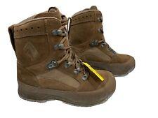 HAIX Desert Combat High Liability Boots Brown Woman's Size 4W G1 #2516