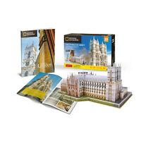 National Geographic Westminster Abbey 3D Jigsaw Puzzle/ Model (+Booklet!)  (pl)