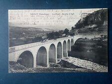 M145. Cpa. 84. Sault. Le Pont. Route d'Apt