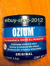 Ozium Smoke & Odor Air Freshener Eliminator Gel. Home, Office And Car 4.5oz NEW!