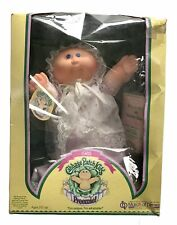 VTG 1985 Preemie Cabbage Patch Kids Bald Girl Blue Eyes Ariel Ethel New