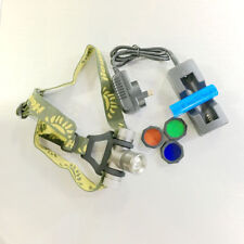 Cree LED An Infinitely Color Variable Lens Headlamp with Rechargable Battery
