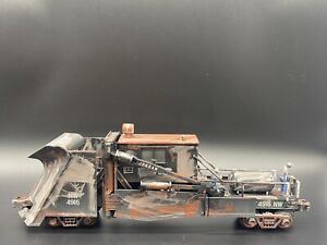 Weathered MTH Norfolk Southern Jordan Spreader O Scale