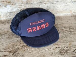 Vintage Chicago Bears NFL Snapback Mesh Baseball Cap