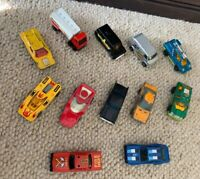Vtg Die Cast Toy Car Lot Matchbox Hot Wheels (12) Superman Van