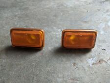 VW Polo 86c Orange Side Repeaters Pair