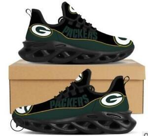 Green Bay Packers Sneaker Running Shoes For Men Women Mesh Trail Training Shoes