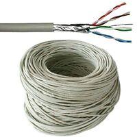 25m CAT5e FTP Shielded Cable Reel/Drum - Pure Copper - Ethernet Network LAN RJ45