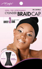 Magic Collection Cylinder Braid Cap Stretchable  #2241BLA