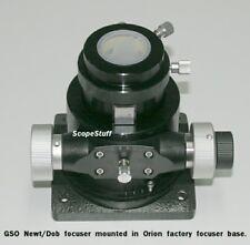 "GSO 2"" Crayford Linear Bearing Heavy Lift Newt/Dob Focuser for SOME Orion DOBs"