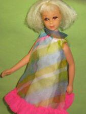 VINTAGE Barbie 1970 Mod TNT FRANCIE Platinum Blonde HAIR HAPPENIN' DOLL in Dress
