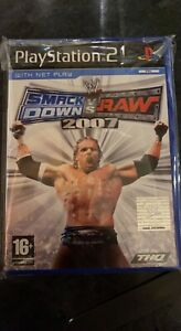 wwe smackdown vs raw 2007 ps2 - Brand New - Still In Cellophane Wrapping