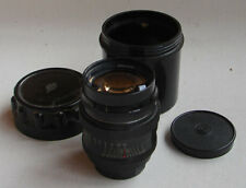 JUPITER-9 2/85mm LZOS BLACK lens M39-L39 screw mount FED Leica Zorki IN BOX EXC.