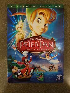 Peter Pan Walt Disney 2 Disc Platinum Edition DVD