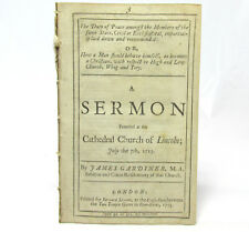 Duty of Peace Amongst the Members of the Same State a SERMON by James GARDINER