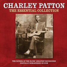 Charley Patton Essential Collection 2-CD NEW SEALED Digitally Remastered Blues