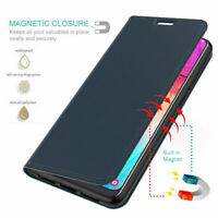 For Huawei P8 P9 Lite 2017 P10 Luxury Magnetic PU Leather Flip Wallet Case Cover