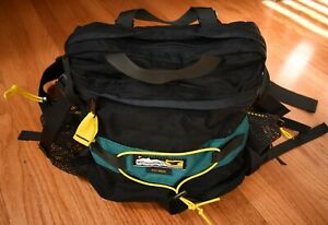 MOUNTAINSMITH - Day Hiker - Lumbar Waist Fanny Pack Black Green Hiking