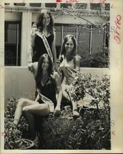 1974 Press Photo Miss Texas World Contestants. - hcx10672