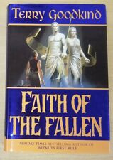 Faith of the Fallen by Terry Goodkind (1st Ed/ UK Hardcover) Sword of Truth #6