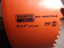 "Bahco 4 3/4"" 121mm   Bi Metal Hole Saw"