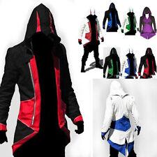 Assassins Creed 3 III Conner Kenway Hoodie/Coat/Jacket Cosplay Costume Top BNWT
