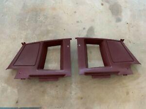 81-87 Pontiac Grand Prix Interior Sail Panel Quarter Window Trim G Body