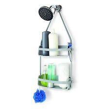Umbra flexible almacenaje Caddy gris doble para ducha accesorios de Baño